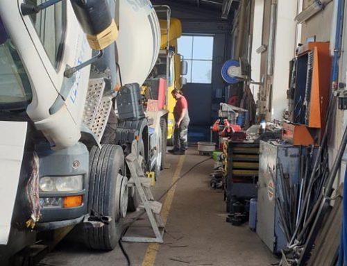 Kamion szervizünkre hosszú távon számíthat!